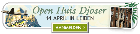 Open Huis Djoser 14 april in Leiden