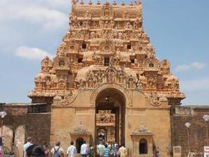 Tempelcomplex in Thanjavur