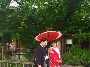 Just married Gion (Kyoto)