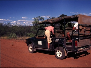 Namibie - Waterberg - gamedrive