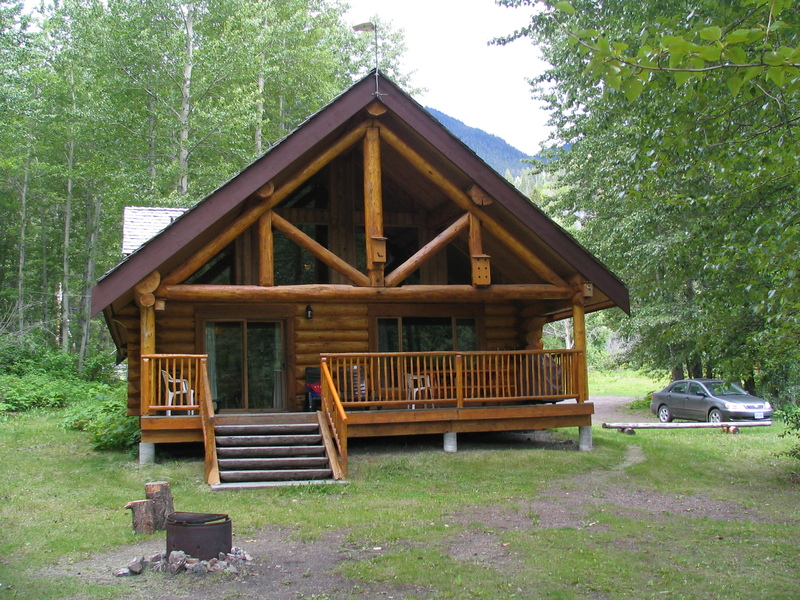 Een van de lodges in Tyax Mountain Lake Resort