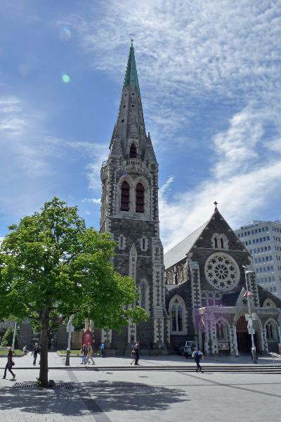 Kathedraal in Christchurch