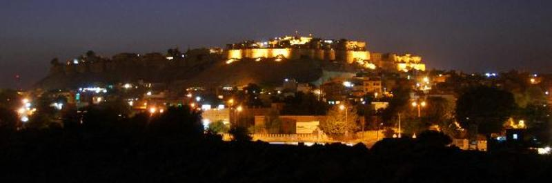 Fort by night