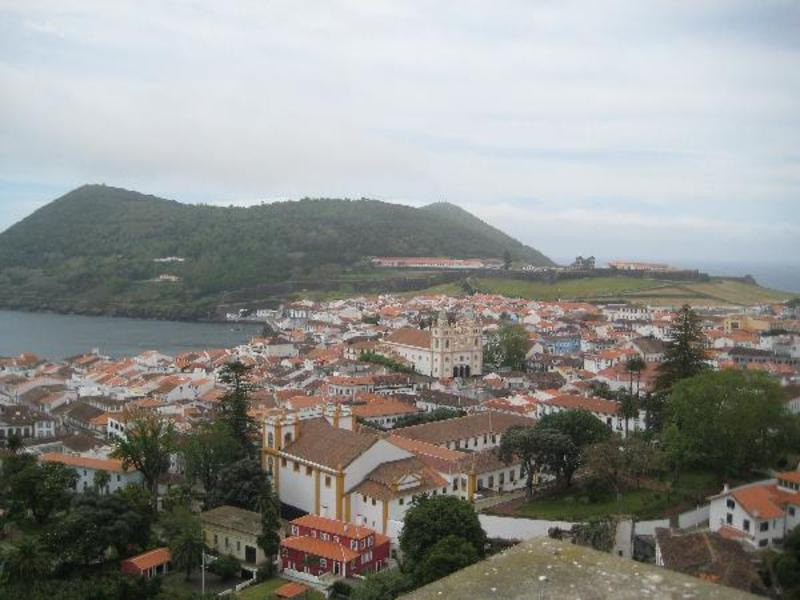Terceira, Angra do Heroisme: uitzicht over de stad