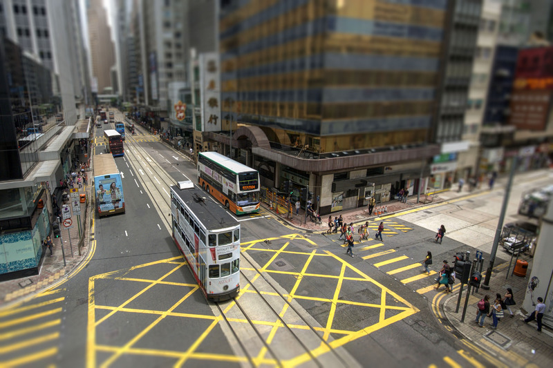 Hong Kong - Central District - Voeux Road