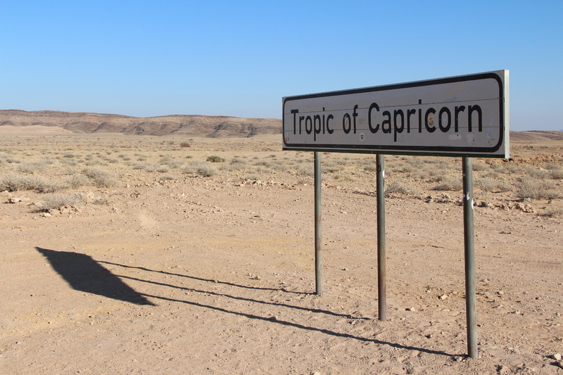 Tropic of Capricon
