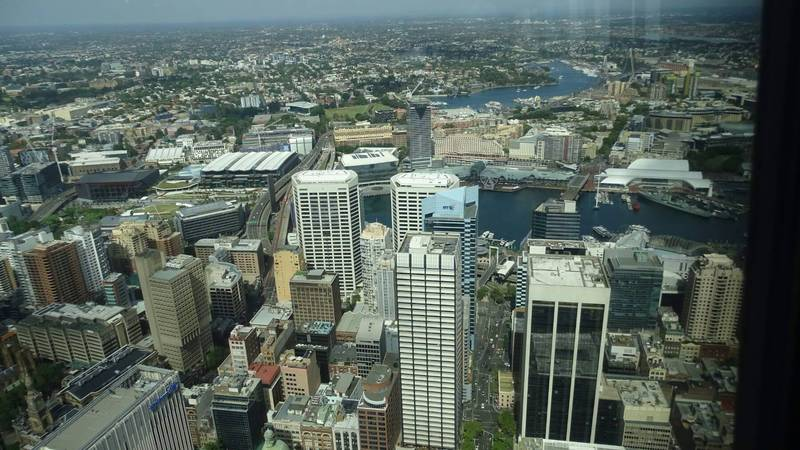 Sydney Tower, HOHO boat en Taronga Zoo