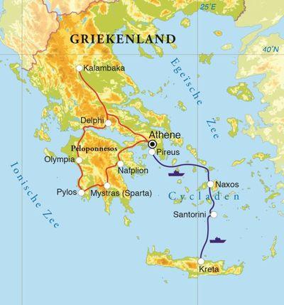 Rondreis Griekenland 18 Dagen Djoser