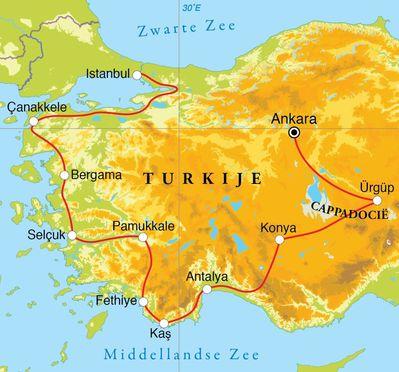 Rondreis Turkije 16 Dagen Djoser