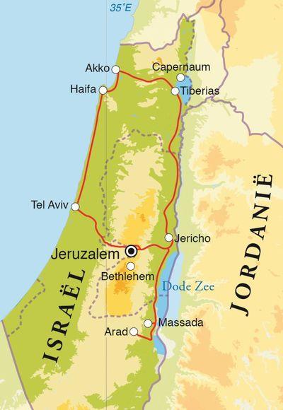 aansluiting Israël