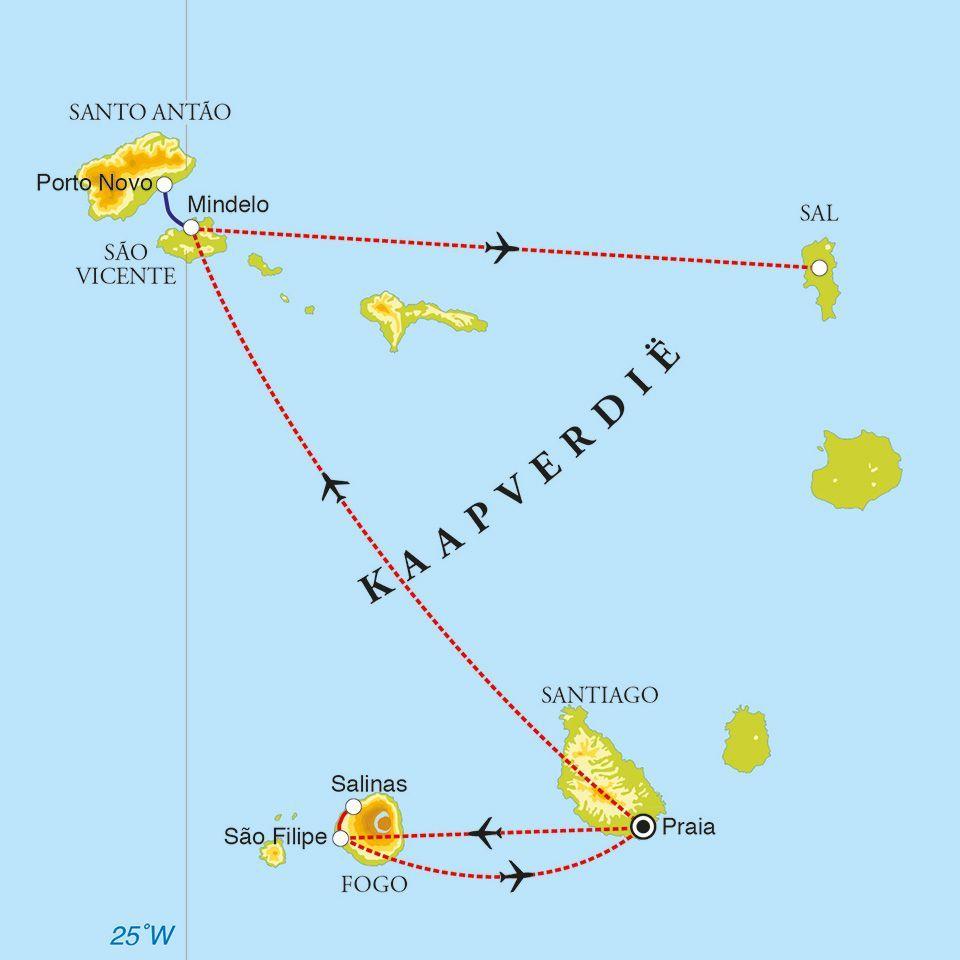 Waar Ligt Kaapverdie.Rondreis Kaapverdische Eilanden 12 Dagen Djoser