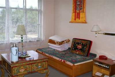 Tibet hotel accommodatie overnachting Djoser
