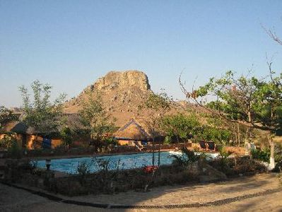 Madagascar Hotel accommodatie overnachting Djoser