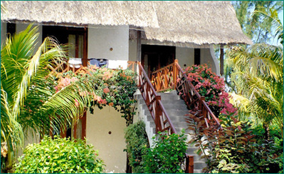 Madagascar mauritius hotel accommodatie overnachting Djoser