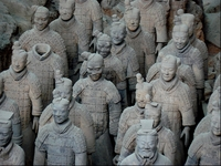 Terracotta Leger Xi'an China Groepsreis Junior