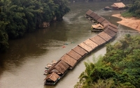Jungle Rafts River Kwai Thailand Djoser