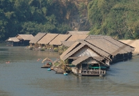 Thailand River Kwai Jungle Rafts Djoser