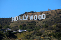Los Angeles Hollywood sign Djoser