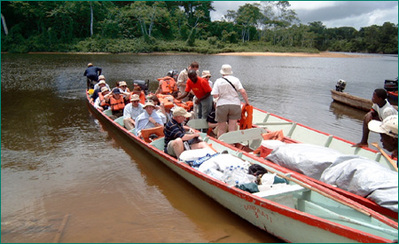 Suriname boot excursie Djoser