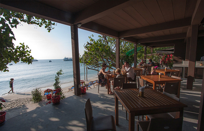 La Lune Beach Resort terras Koh Samed Djoser