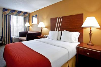 Roanoke - Holiday Inn Express - kamer Amerika