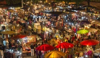 Night bazar Thailand Djoser