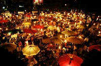 Night Bazaar Chiang Mai Thailand (internet)
