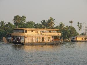 Backwaters rijstboot