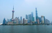 Shanghai skyline China Djoser