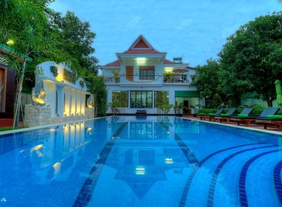 Marvel Holiday Boutique hotel Siem Reap Campbodja Djoser