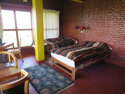 Nagarkot Hotel Farmhouse kamer Djoser accommodatie overnachting