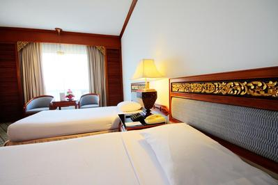 The Park Hotel kamer Chiang Mai Thailand