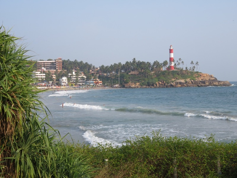 Lighthouse beach Kovalam