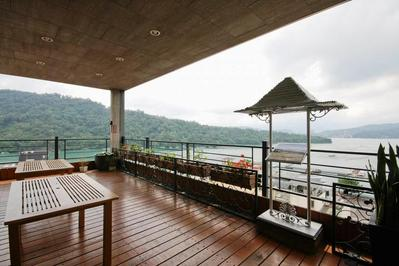 Einhan Resort balkon Sun Moon Lake Taiwan