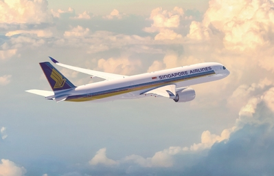 Vlucht Singapore Airlines