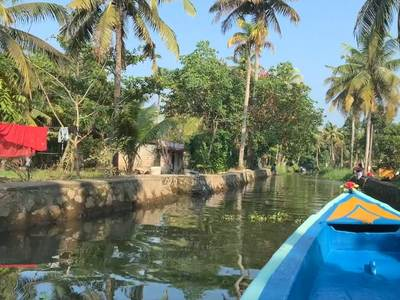 Backwaters Zuid-India