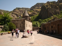 Geghard monestary in Armenia