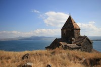 Sevannank monestary near Sevan lake, Armenia