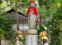 Statue in Koyasan monestary