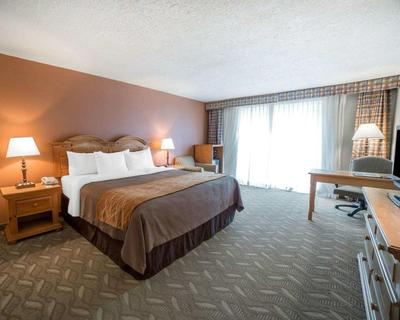 Comfort Inn kamer Salt Lake City