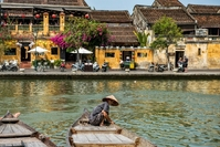 Hoi An water boot Vietnam