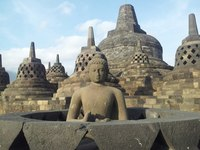 Borobudur Java Indonesië