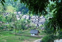 Kampung Naga Java Indonesië