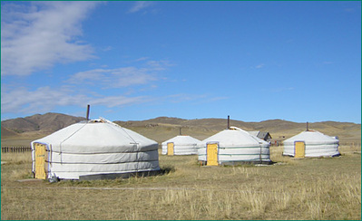 Mongolie accommodatie overnachting Djoser