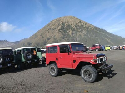 Jeep Bromo Indonesië