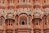 Close-up Hawa Mahal Jaipur