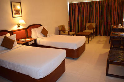 Abad Fort Hotel Cochin Zuid-India Djoser