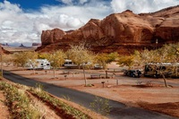 USA Monument Valley Goulding's Campground