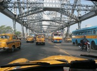Howrah Bridge Kolkata India Djoser