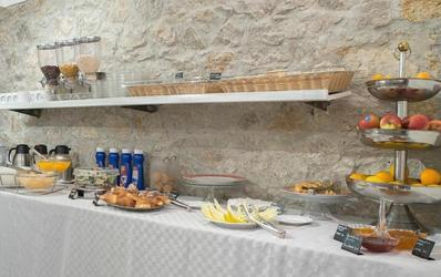 Ontbijtbuffet Hotel Tonic Palermo Italië Djoser